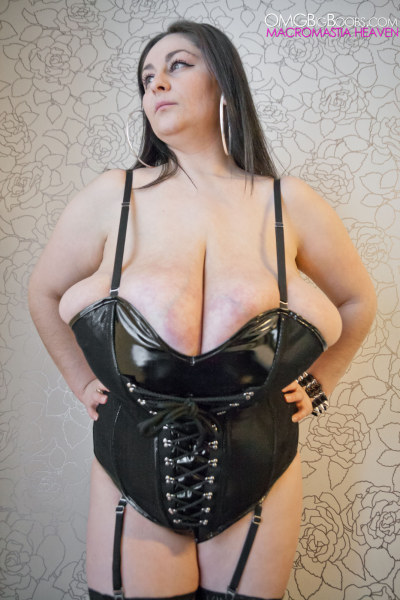 Busty In Leather Big Tits 29