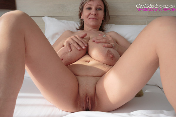 Mine Huge stretched pussy naked